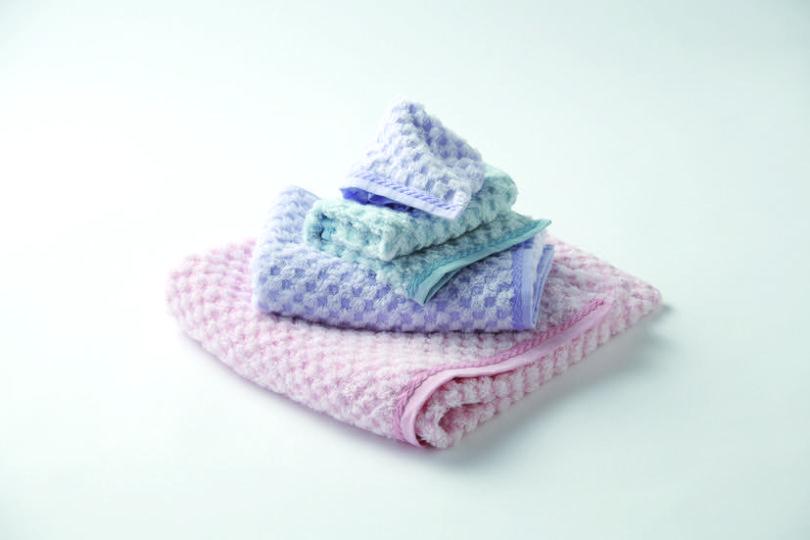 それぞれの違いがわかる3種のタオル