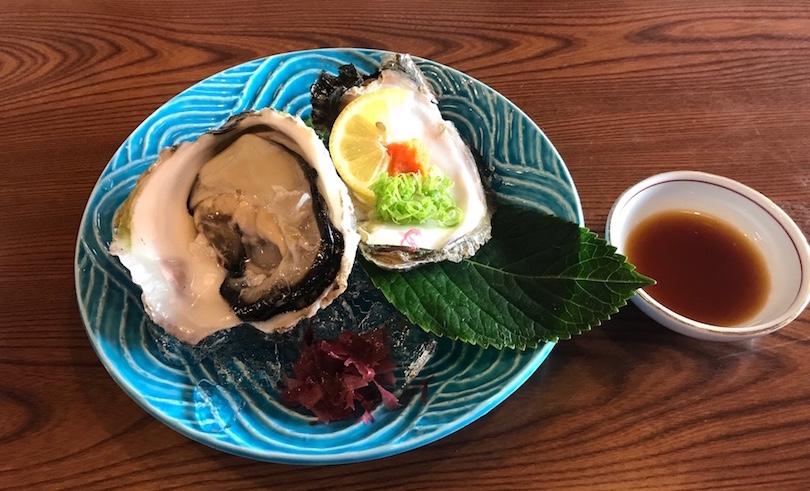 今治で食べた美味しい牡蠣