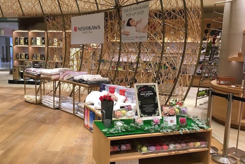 海外のタオル事情って?マレーシアとシンガポールに、東京西川のポップアップショップ出店!