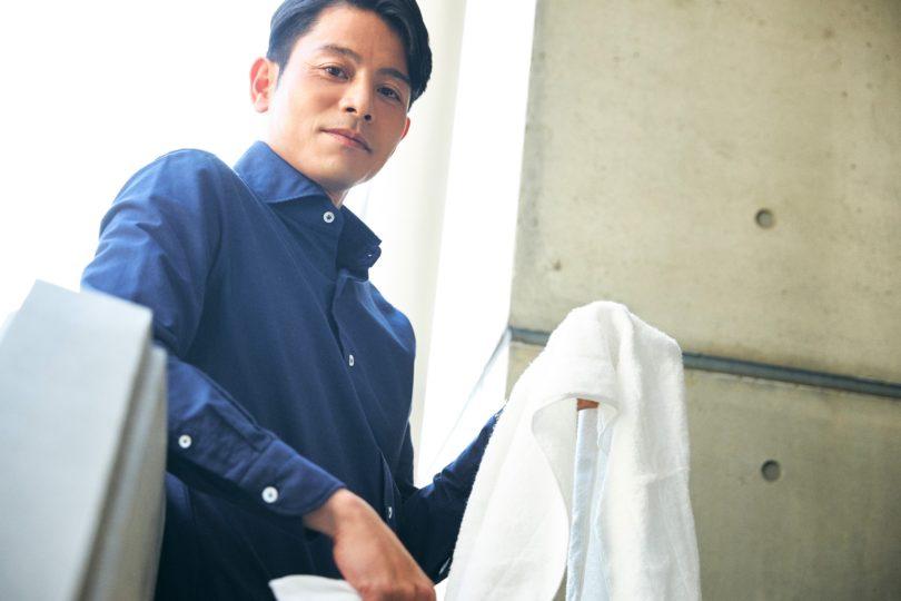 【タオルと私】吉沢悠さんが溺愛する「サーフィンの相棒!」なタオルとは?
