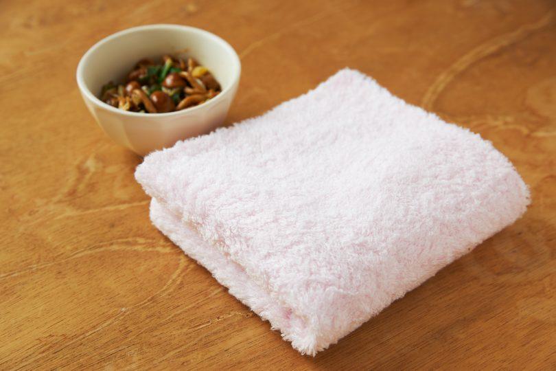 <watairo>あまわたが、食器洗い後の手を包みます