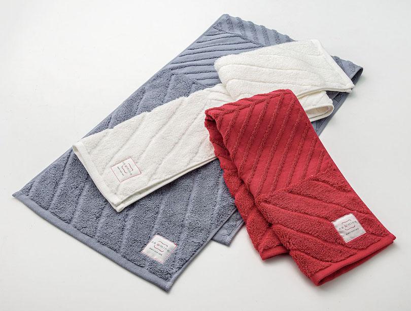 吸水力は一般的なタオルの約5倍で、髪にも優しいタオル