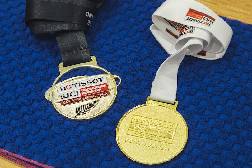 2019-2020トラックW杯で獲得した金メダル