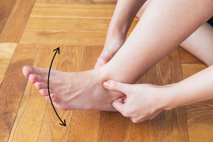 足首のむくみが解消され、美脚につながります。