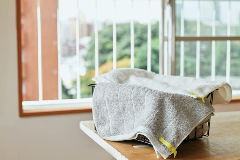 抗菌作用があり、部屋干しでも臭いが付きにくい
