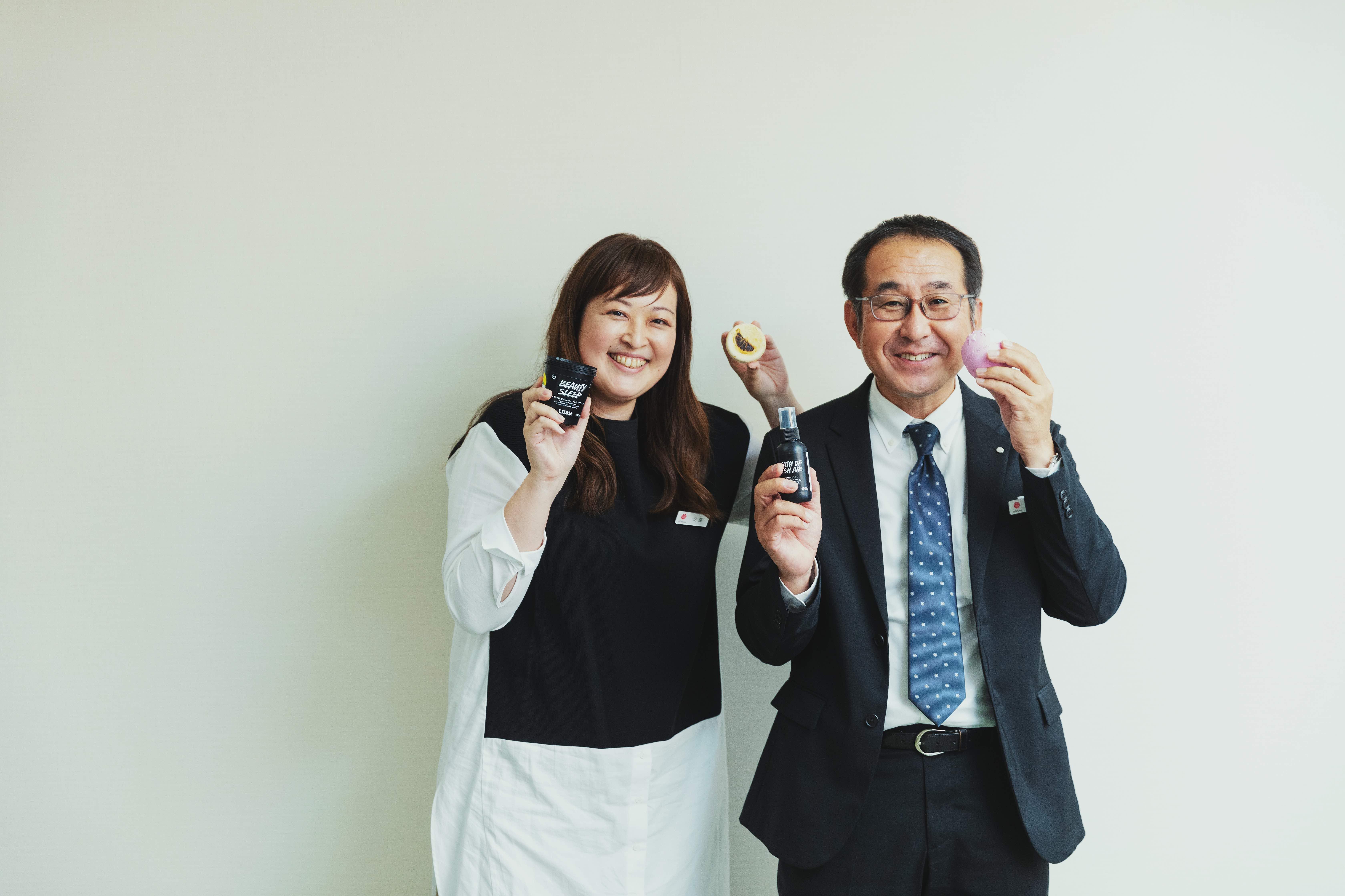 安藤 咲(左)、三田村 哲也(右)